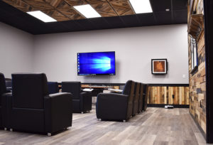 Use our wood for interior spaces